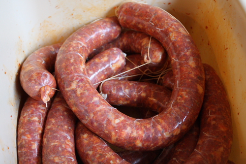 How To Dry Cure Sausage  